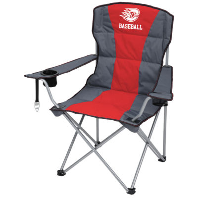 LAST SEASON SALE - Deluxe Padded Folding Chair w/ Carrying Bag    ***Personalization Available*** Thumbnail