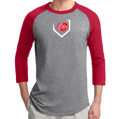 Sport-Tek ® - Colorblock Raglan Jersey - Screen Printed Logo Thumbnail